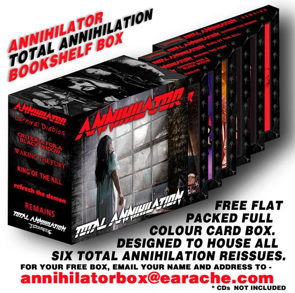 Annihilator - Free Box Case